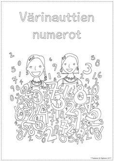 Math For Kids, Fun Math, Kindergarten Math, Preschool, Grade 1, T 4, Teaching Kids, Coloring Pages, Diagram
