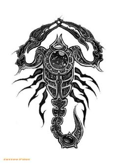 NEW STYLE TATTOOS: Scorpion Tattoo Designs