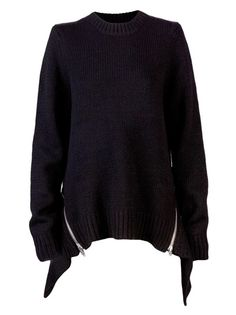 ALEXANDER WANG Oversized Chunky Pullover