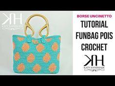 "TUTORIAL BORSA ""FunBag Pois"" UNCINETTO - DIY CROCHET BAG ● Katy Handmade - YouTube"