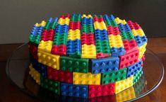 Looking for a cute Lego party favor? Look no further than these simple and affordable Lego minifigure crayon party favors for a Lego themed birthday party. Cakes To Make, Cakes For Boys, How To Make Cake, Chocolate Lego, Bolo Diy, Lego Birthday Party, Cake Birthday, 5th Birthday, Birthday Ideas