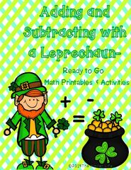 March Addition and Subtraction Activities!! Enter for your chance to win 1 of 2. March Adding and Subtracting With a Leprechaun  (61 pages) from TheKinderLife on TeachersNotebook.com (Ends on on 03-09-2016) Interactive addition and subtraction activities for March! Plus, everything in my store is currently 30% off! GOOD LUCK.