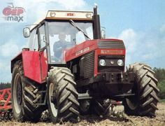 Zetor/ZTS-12145 New Tractor, Classic Tractor, Design Fields, Heavy Machinery, Construction Design, Vintage Farm, New Engine, Tractors, History