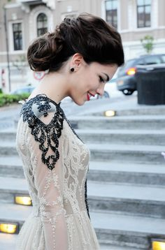 wedding dressses, fashion, elegant dresses, wedding hairs, the dress, hair makeup, white lace, bride, lace dresses