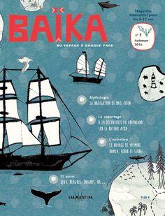 Couverture magazine Baïka Illustration Lola Oberson