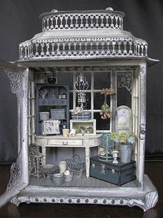 Amazing! Just given me an idea of what beautiful miniatures you could create in a jewellery box!: