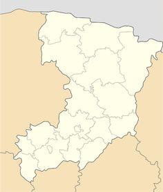 Mapa lokalizacyjna obwodu rówieńskiego
