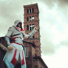 I don't buy maps. #Viewpoint #Climb #Rome #HandyPerchOutTheTop #LeapOfFaith