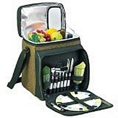 Green Picnic Set Cooler for Two
