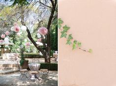Pieter & Leandri   The Moon and Sixpence Wedding » Louise Vorster Photography Pom Poms in the garden