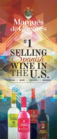 Marqués de Cáceres - The Number One selling Spanish wine in the U.S.!