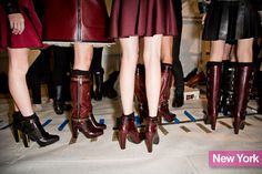 The Best Shoes From 2013 Fashion Week, booties