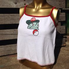 "119 Likes, 3 Comments - Rumors Boutique (@rumorsboutique) on Instagram: ""Bulbasaur Pokémon patch cropped tank by @thecosmiccircle! Ladies size L, $24! 💥 Purchase in store,…"""