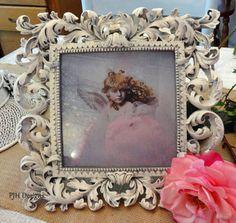 Vintage Plaster Ornate Shabby Chic Romantic by PJH Designs,