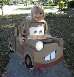 Mater the Tow Truck - Creative Halloween Costummate