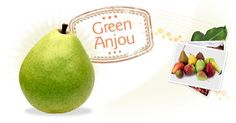 Green Anjou - citrusy and juicy #springforpears