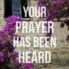 Luke 1:13 #prayer #waiting — Grace for Those Below