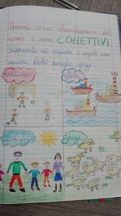 Classe Seconda-Italiano: Il Nome Collettivo (parte terza)- Marzo - Maestra Anita