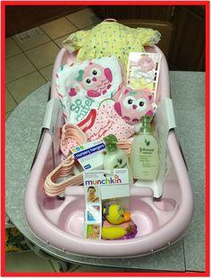 51 baby shower gift basket ideas diy baby shower gift basket ideas for boys shower gifts. Regalo Baby Shower, Cute Baby Shower Gifts, Baby Shower Gift Basket, Baby Shower Games, Baby Boy Shower, Baby Gifts, Diy Gift Baskets, Baby Baskets, Raffle Baskets