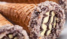 Cone Trufado de Paçoca, aprenda como fazer em sua casa essa delicia de chocolate, fácil e pratico, fica uma delicia, anote a receita.