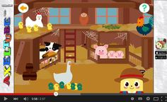 Take care of animals in Jobi's Animal Barn- an app for 3 yrs kids. A cute app for kids. They need to listen to the instructions and complete the activities (e.g. clean the pigs in the barn or harvest required number of vegetables in the garden).   #kidsapps