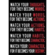 Your destiny. Anyone can change whatever they want. All they will to do it and action to execute it
