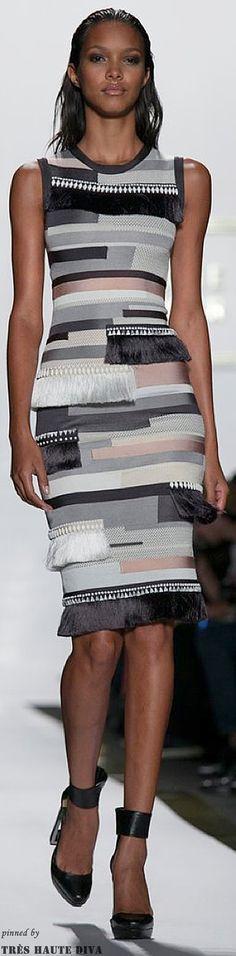 Herve Leger: Raquel Bandage Dress #HerveLeger #fashion #clothes