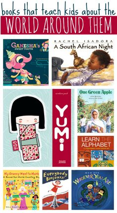 books that teach kids about the world around them #kidlit #childrensbooks #picturebooks