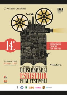 Each year you get to celebrate unique aspects of your community under the form of a festival. Graphic design inspiration under the form of festival posters. Festival Cinema, Festival Posters, Event Posters, Cinema Posters, Retro Posters, Vintage Posters, Movie Posters, Short Film Festivals, Plakat Design