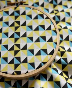geometrics - copy the fabric pattern as a quilt pattern