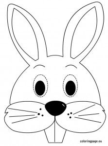 Really easy bunny ears! You don't really need to print the ...