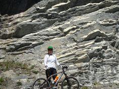 Bike and rock
