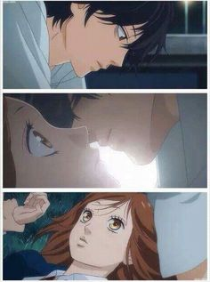 Futaba Y Kou, Ao Haru, Like A Storm, Blue Springs Ride, Star Crossed, Ulzzang Couple, Anime Shows, Anime Comics, Shoujo