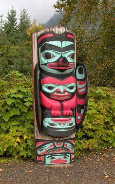 Jay Galvin photo of Tlingit totem
