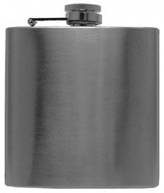 The Ramini Brands Stainless Steel 6 oz. Flask is as attractive as it is functional, adding panache to the home bar. Sleekly styled, durable and well priced, it's a must-have accessory for the mixologist.