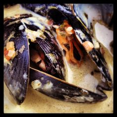 Moules Frites a la terrasse - that's summer!