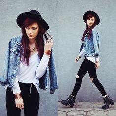 Hat, Jacket, Leggings, Boots