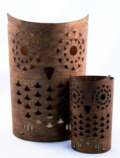 Pencil holder OWL by ShopDululu on Etsy
