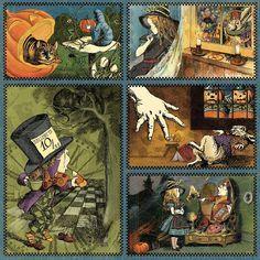 Alice in Wonderland Paper