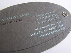 DISTRIPAPER: tarjetas de visita exclusivas