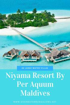 Maldives Water Villa, Overwater Bungalows, Resort Villa, Island Nations, Resorts, Vacation, Outdoor Decor, Vacations, Vacation Resorts