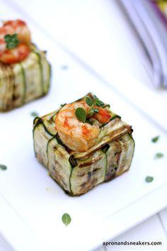 Black Venere & Basmati Rice Timballo with Grilled Vegetables & Shrimps @Rowena Dumlao Giardina (Apron and Sneakers)