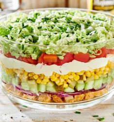 Anti Pasta Salads, Pasta Salad Recipes, Party Food To Make, Cooking Recipes, Healthy Recipes, Polish Recipes, Food Inspiration, Dinner Recipes, Food And Drink
