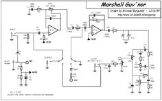 MARSHALL GUVNOR OVERDRIVE SCH Service Manual free download, schematics, eeprom, repair info for electronics New Electronic Gadgets, Electronics Gadgets, Electronics Projects, Guitar Effects Pedals, Guitar Pedals, Music Guitar, Guitar Chords, Diy Guitar Pedal, Guitar Chord Chart