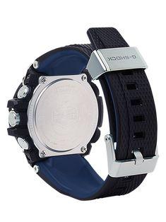 G-SHOCK G-STEEL GSTB100XA-1A Men's Watch Black G Shock Men, G Shock Watches, Men's Watches, Brown Leather Strap Watch, Hand Watch, Vintage Watches For Men, Automatic Watch, Stainless Steel Bracelet, Digital Watch