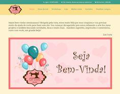 Nasceu! Meninaass, é com muita alegria que apresento o meu site: http://www.lisicostaatelie.com.br Conto com a ajuda de vocês, é só o começo