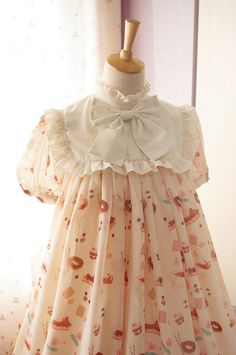 Neverland Lolita ***Sweet Afternoon Tea*** High Waist Lolita OP Dress $85.99 - My Lolita Dress