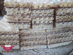 Wafel z mlekiem w proszku II Krispie Treats, Rice Krispies, Condensed Milk Cake, Pumpkin Cheesecake, Homemade Cakes, Cooking Recipes, Bread, Easy, Chef Recipes
