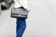 639a0a731154 2005: Chanel 2.55 Bags- Cosmopolitan.com #Chanelhandbags Popular Purses,  Popular Handbags