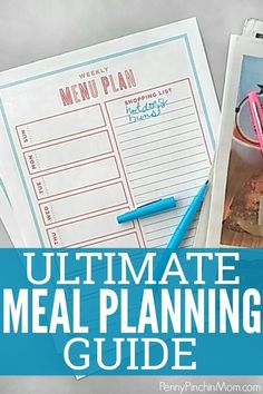 Making a menu plan (or meal plan) is the simplest way to save money.   Using our helped us pay off $37,000 in debt!!!    Meal planning is easy when you know how to get started, which what this posts does.  Everything you want to know about menu planning - including sample menu ideas you can use to get started.  #menuplan #mealplan #shoppinglist #printables